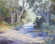 NATURE WALK- Ft by Tina Bohlman Oil ~ 8 x 10