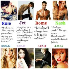 The Marked Men series by Jay Crownover. Nash debut on 4/29 Reviews on the blog.