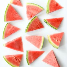 Refreshing watermelon slices ♡