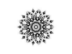 Ideas Tattoo Mandala Rose Patterns For 2019 Dotwork Tattoo Mandala, Geometric Mandala Tattoo, Mandala Sleeve, Geometric Tattoo Design, Mandala Tattoo Design, Tattoo Designs, Small Mandala Tattoo, Dot Tattoos, Trendy Tattoos