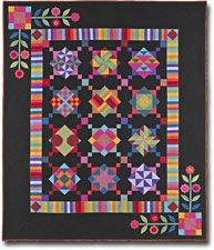 Amish with a Twist Block Of The Month Quilt