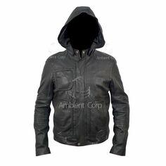 #Mission #Impossible #MI4 #TomCruise #Hoodie #Genuine #Leather #Jacket #Menswear #Shopping #eBay