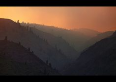 Wild fire above Wenatchee II by sparth, via Flickr