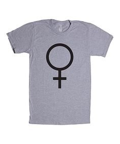 Heather Gray Female Crewneck Tee - Plus Too
