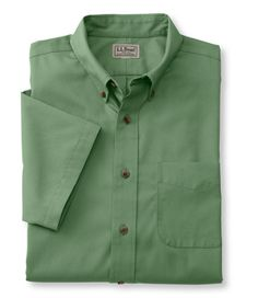 Wrinkle-Resistant Twill Sport Shirt, Traditional Fit Short-Sleeve: Traditional Fit | Free Shipping at L.L.Bean