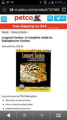 Leopard geckos:a complete guide to fudlapharine geckos