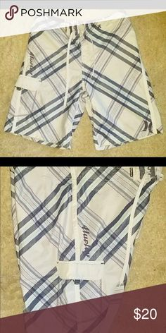 a0cd87d32f Mens size 32 purple and white Hurley swim shorts Mens size 32 purple and  white Hurley swim shorts trunks great condition Hurley Swim Board Shorts