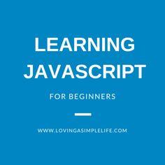 Learning Javascript for Beginners