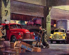 Plan59 :: Classic Truck Art :: Peter Helck