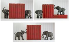 Make bookends of other objects, from SCJohnson, Family Economics (Cathe Holden).