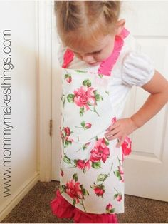 No-Sew Aprons for Kids   AllFreeSewing.com