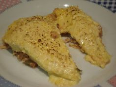 Receita Prato Principal : Torta de frango desfiado com cobertura de creme de…