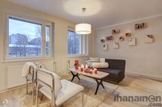 Ihanainen.com sisustussuunnittelu. Namupala-kodin olohuone. #olohuone #livingroom #sisustus #sisustussuunnittelu #tampere