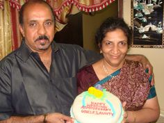 My dad and mom