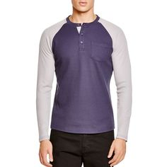Sovereign Code Jeter Long Sleeve Raglan Tee ($29) ❤ liked on Polyvore featuring men's fashion, men's clothing, men's shirts, men's t-shirts, old navy mens shirts, mens long sleeve shirts, mens long sleeve t shirts, old navy mens t shirts and mens raglan shirt