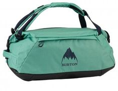Burton Multipath Medium Duffel 2020 Bag in Green Nylons, Burton Rucksack, Camping Spots, Blue Coats, Carry On Luggage, Online Bags, Travel Accessories, Roxy, Travel Bags