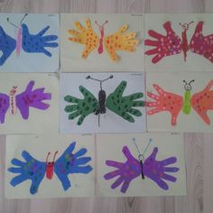 handprint butterfly craft | Crafts and Worksheets for Preschool,Toddler and Kindergarten