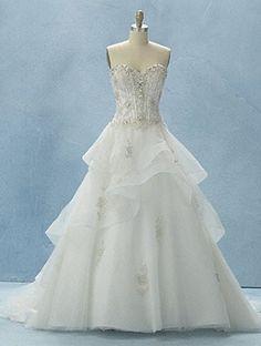Beauty and the beast wedding dress <3