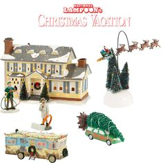 the jolly christmas shop department 56 national lampoons christmas vacation 6pc set 37900