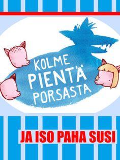 Kolme Pientä Porsasta Grimm, Ikon, Fairy Tales, Kindergarten, Artwork, Sugar Pie, Honey, Gardening, Photo Illustration