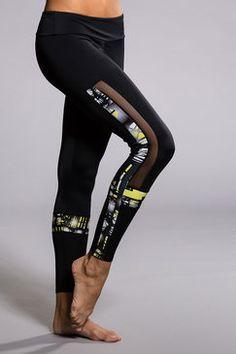 739b98c3b3478 Power Legging - Black / Queen Bee / Mesh Mesh Workout Leggings, Mesh  Leggings,