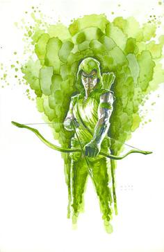 Green Arrow by David Mack