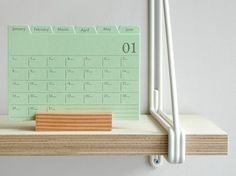 Index card planner