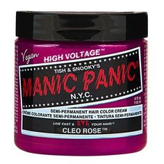 Cleo Rose Manic Panic Vegan 4 Oz Hair Dye Color