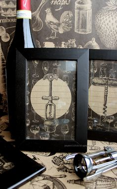 DIY Art with Wine Theme - vintage corkscrew artwork #vino&ale #winegifts #wineart #diywinecrafts Wine And Beer, Beer Tasting, Wine Art, Kitchen Pictures, Travel Scrapbook, Wine Gifts, Creative Studio, Canvas Frame, Crafty Projects