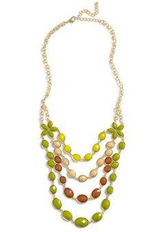 Tropical Conversation Necklace, #ModCloth