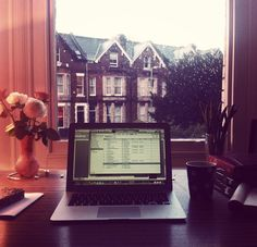 Peaceful studying in the rain