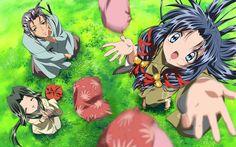 Ryuuya and Kanna AIR anime Mysterious Girl, Kyoto Animation, Familia Anime, Summer Wallpaper, Weird And Wonderful, I Love Anime, Character Design, Fictional Characters, Studio