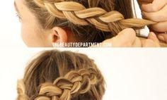 how to make dutch braid short hair