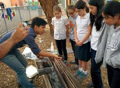 Assembling a Worm Bin with King Middle School - http://enrichla.org/assembling-a-worm-bin-with-king-middle-school/