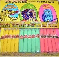 Vices of my childhood- bubblegum cigars and candy cigarettes