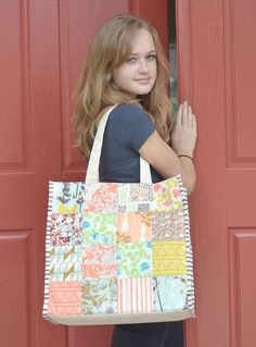 cultivated tote bag and sophie