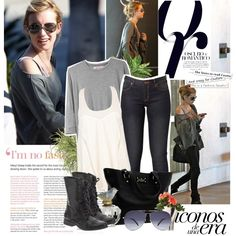 Celebrity Style: Emma Roberts, created by jesssilva on Polyvore