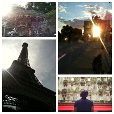 Paris. I'm still holding on to the wish of getting kissed under the Eiffel Tower!♥
