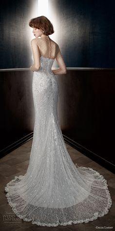 galia lahav spring 2018 bridal illusion long sleeves illusion high neck sweetheart neckline full embellishment elegant fit and flare sheath wedding dress chapel train (inez) bv -- Galia Lahav Spring 2018 Wedding Dresses