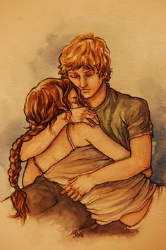 """""""Safe and Sound"""" - Katniss and Peeta from the Hunger Games"""