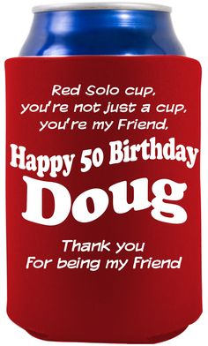 Koozies For A Birthday On Pinterest 40th Birthday