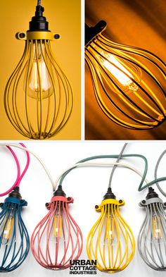 Choose Factorylux cage lights and lighting. Large Balloon and Long Tube bulb cages in a range of finishes. Cage Pendant Light, Cage Light, Pendant Lighting, Light Bulb, Nursery Lighting, Baby Room Lighting, Living Room Lighting, Stair Lighting, Hallway Lighting