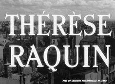 M. Carné - Thérèse Raquin (1953)