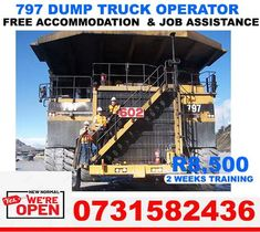 Safety Training, Training School, Free Classified Ads, Dump Truck, Cape Town, Crane