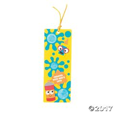 Geared Up for God VBS Thumbprint Bookmark Craft Kit - OrientalTrading.com