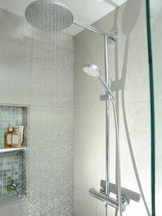 Trendy Bathroom Shower Room Built Ins Ideas Shower Niche, Master Shower, Shower Tiles, Shower Bathroom, Shower Hose, Shower Floor, Shower Faucet, Bad Inspiration, Bathroom Inspiration