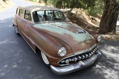 1954 DeSoto Powermaster Wagon ICON Derelict. LOVE THIS CAR!