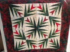 christmas cactus quilt