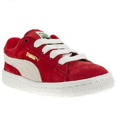 Junior Red Puma Suede Classic Tdlr at schuh. Twitter / salielliott: Mathis new shoes #schuh #puma #suede