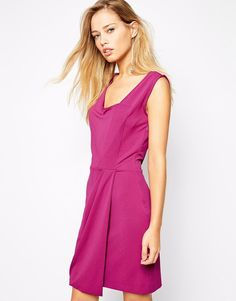 Supertrash Dasha Dress with Drape Front